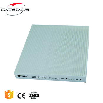 100% Work high quality car air conditioning filter,filter air conditioning