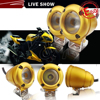 Y&T Wholesale 2 inch auto fog offroad 1080 LM 2'' Good Service gold led spot lights