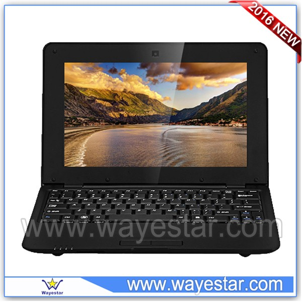2016 cheap Latest notebook computer VIA8880 android laptop