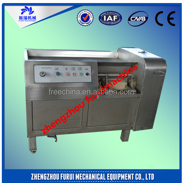 2015 Hot sale large capacity cut meat into cubes/best meat processing equipment and tools