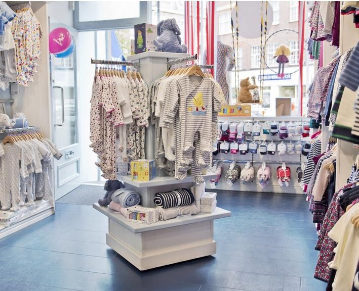 Fancy Baby Shop Garment Display Rack Baby Shop Interior Design And