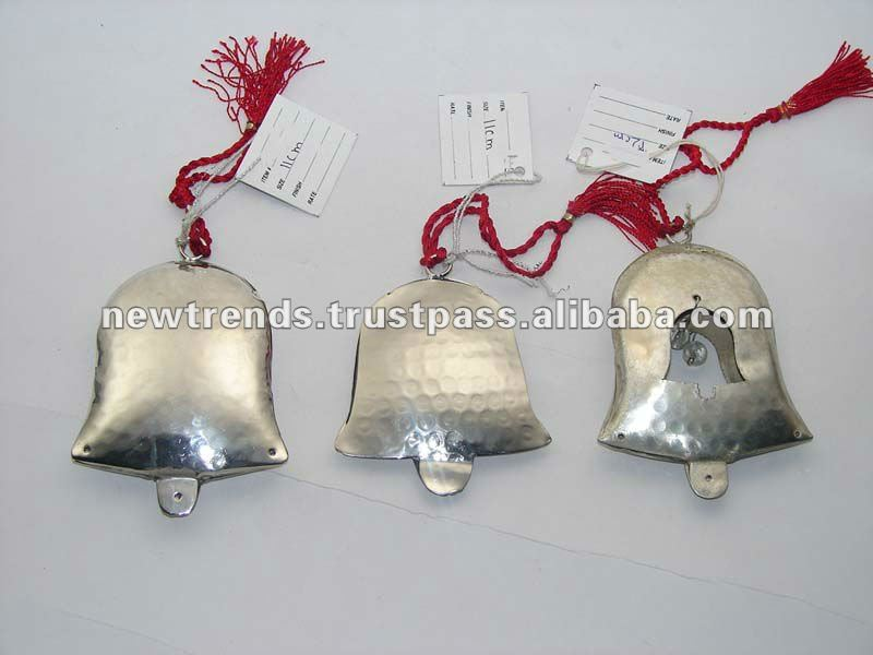 Extra mile promotional metal christmas ornaments discount