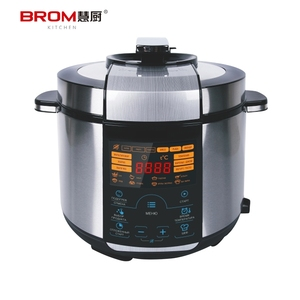 Energy efficient stainless steel best power programmable imported pressure cooker