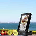 7 Player 7 Inch LCD Screen L Shape Desktop Advertising Player With Power Bank