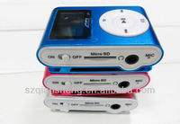 MINI LCD Screen Clip MP3 Player with SD/TF card slot