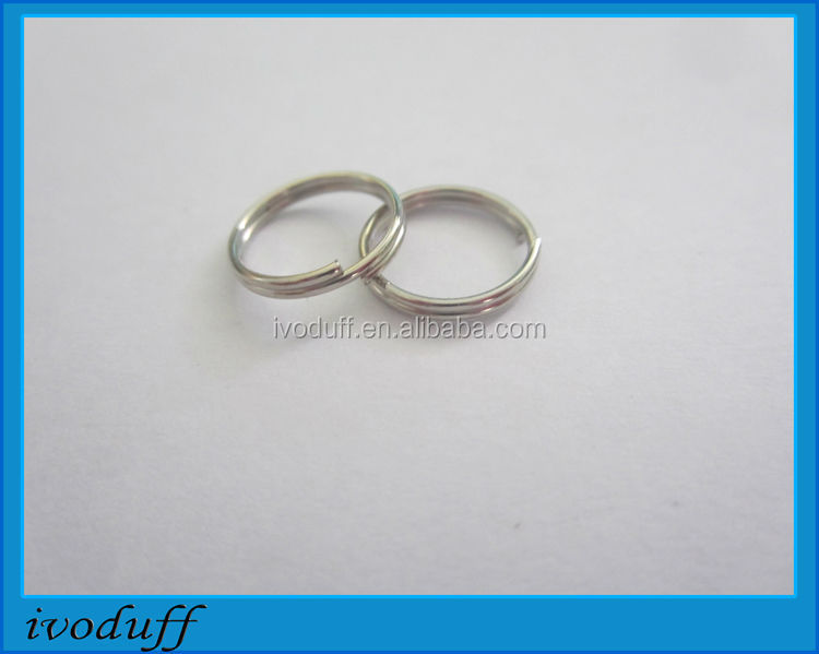 Small Jump ring for sale/Metal O ring for connecting, Jump keyring