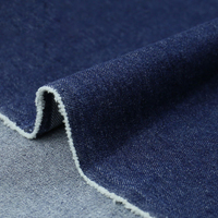 11.4 oz manufacturers supply 100% cotton 10*7 twill washed denim fabric