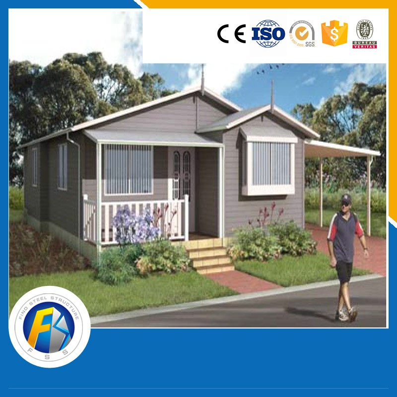 Long life span sandwich panel prefabricated living house prefab bungalow