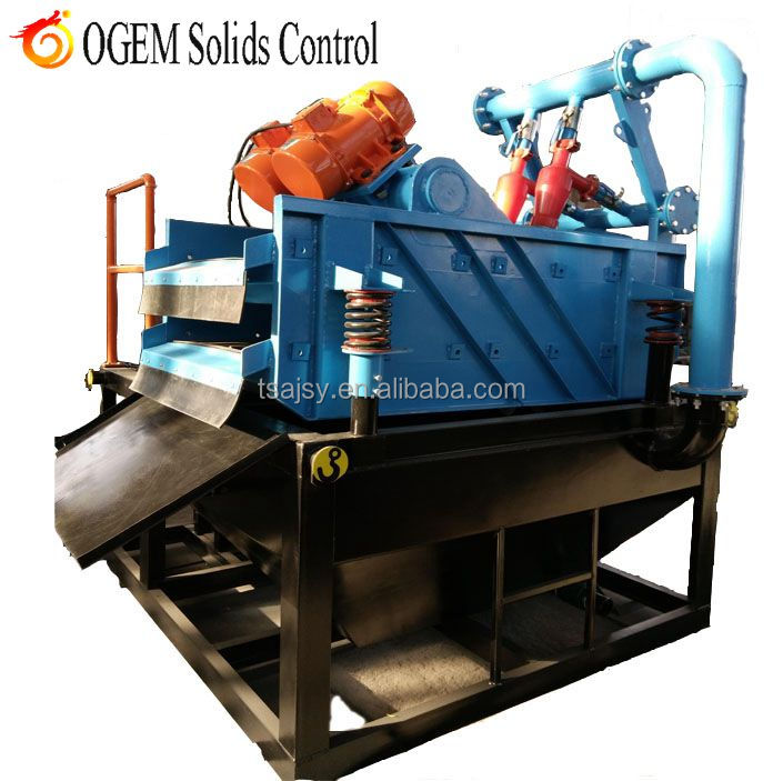Trenchless HDD Piling drilling mud circulation system