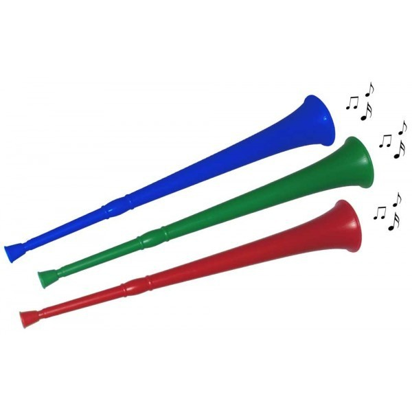 World cup sports cheering props 66cm plastic vuvuzela horns