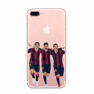 World Cup Promotion Case For iPhone 8 Mobile Phone Cover Transparent Phone Cover For iPhone 8 Football Star Case