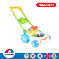 best gift colorful indoor fun learning handcart baby walker toys for wholesale