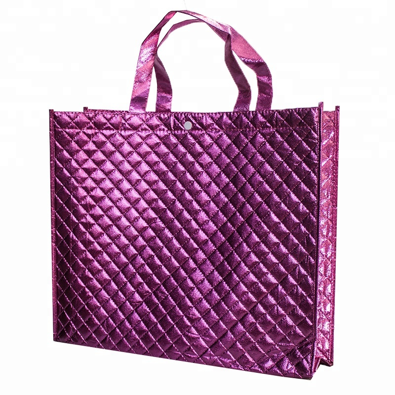 Custom High Quality Colorful Promotional PP Laminated Shopping Non Woven Bag
