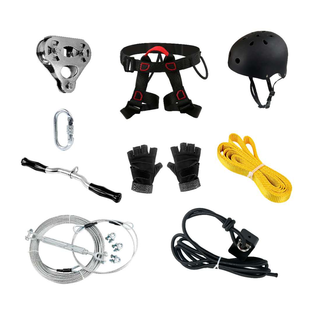 iZipline Heavy Duty ZIP LINE with complete accessories CE & RoHS certified