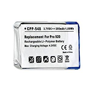 Jabra Pro 920 Cordless Phone Battery CPP-548 3.7V Li-Pol 295mAh - Replacement For Jabra AHB5-2229PS Cordless Phone Battery