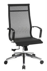 Avenue 6 Office Star 7360MLT High Back Mesh Screen Back And Seat Chair