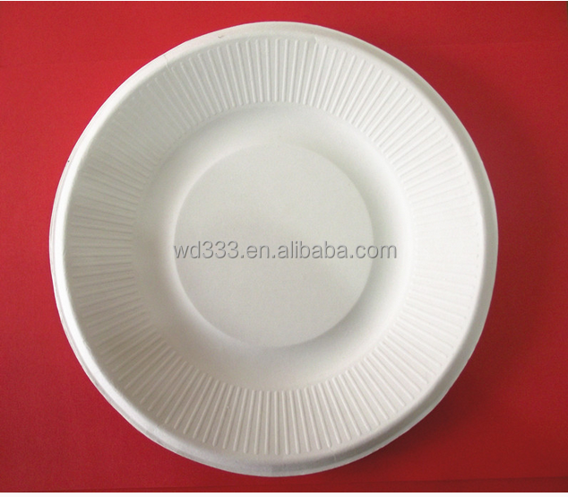Disposable paper plates and trays