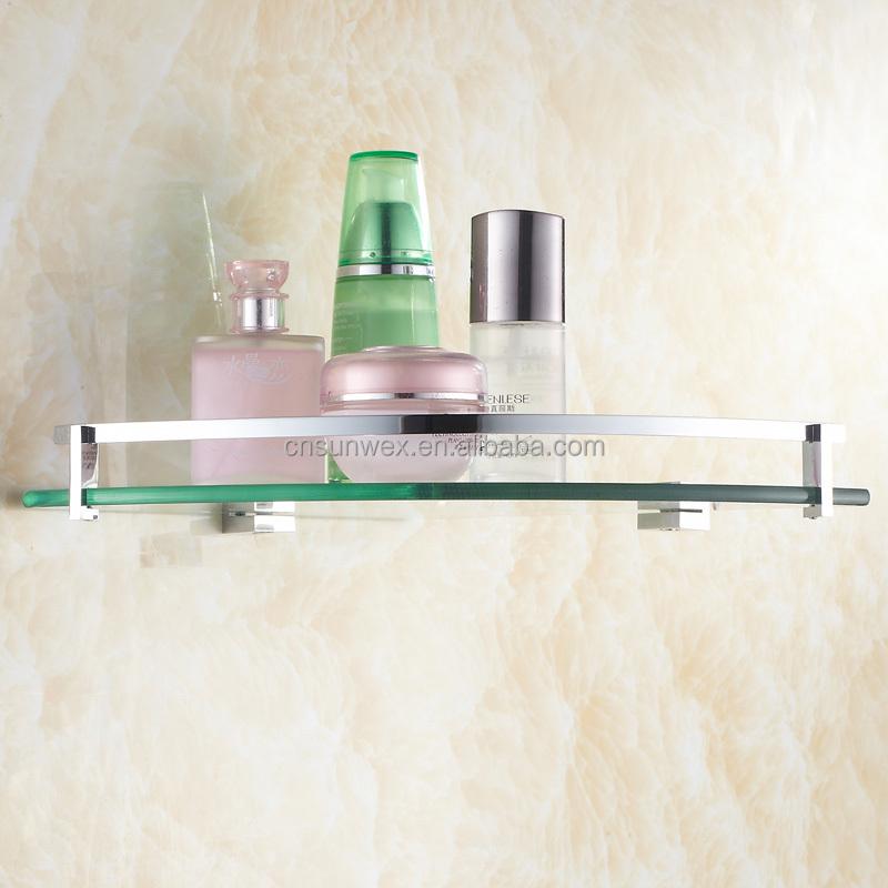 Toilet Badkamer Hoek Gehard Glas Plank 8MM-Thick Muurbevestiging ...
