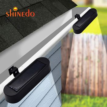 New Item Outdoor Garden Wireless Wall 8LED Solar Gutter Light