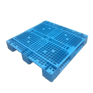 heavy weight double sides warehouse storage stacking use plastic pallet for flour bags 1911102