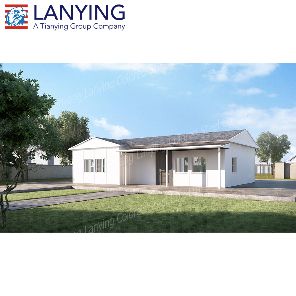 STD86 80m2 house plan prefabricated house kit sets
