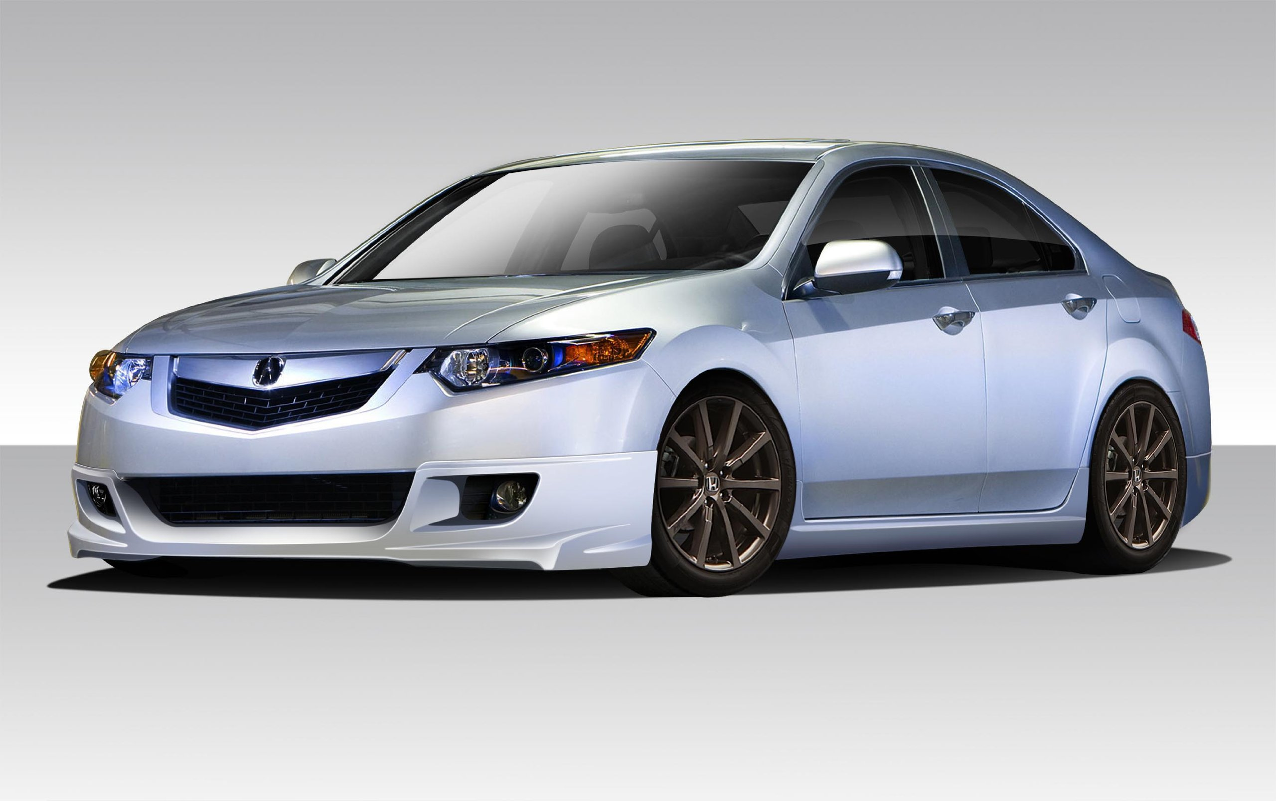 2009-2010 Acura TSX Duraflex Type M Body Kit - 4 Piece - Includes Type M Front Lip Under Spoiler Air Dam (108763) Type M Side Skirts Rocker Panels (108764) Type M Rear Lip Under Spoiler Air Dam (108765)