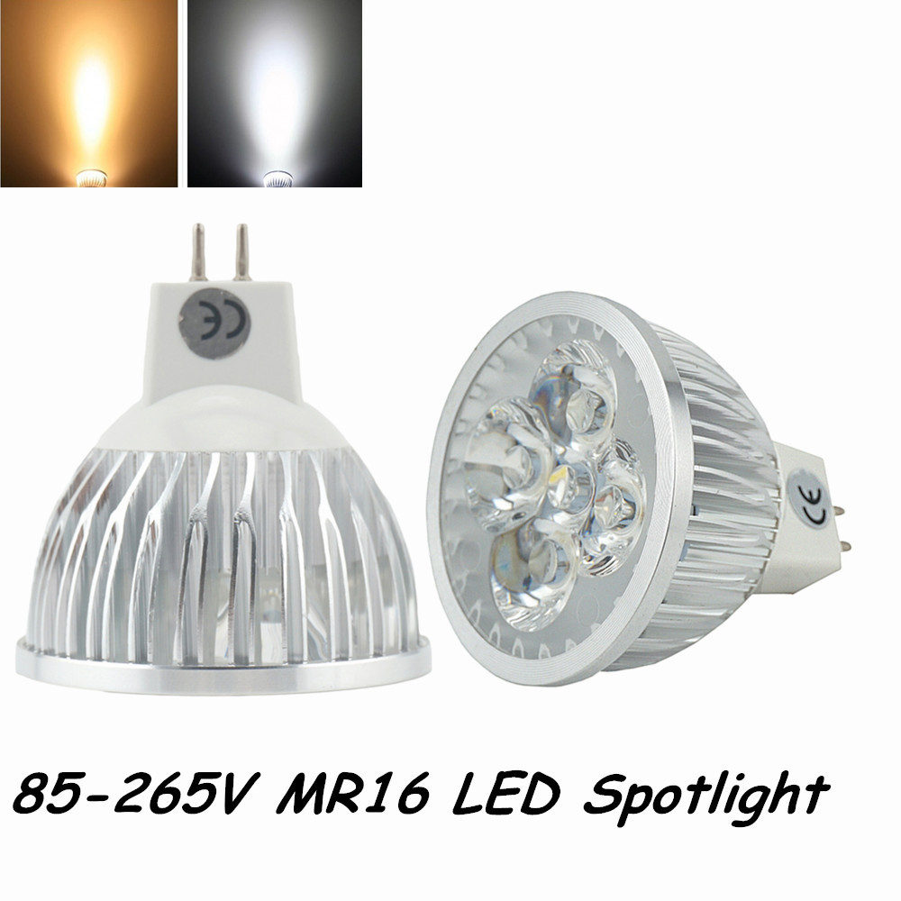 free shipping 4x1w super bright led mr16 spotlight 110v 220v mr16 led bulb led g5 3 220v in led. Black Bedroom Furniture Sets. Home Design Ideas