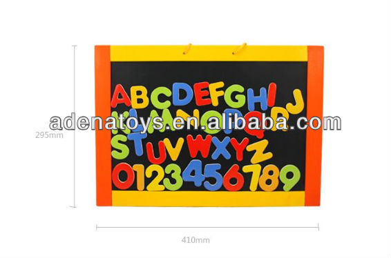 New Children educational wooden alphanumeric digital color drawing board toys
