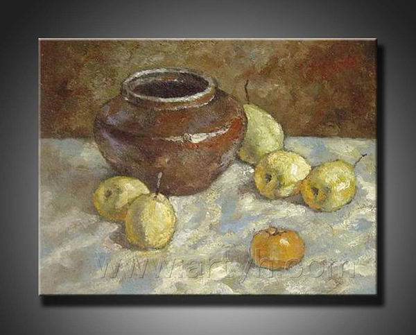 2013 hot sale pear painting canvas