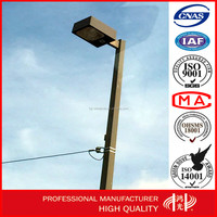 American Standard LED Show Box Square Pipe Street Steel Lighting Pole