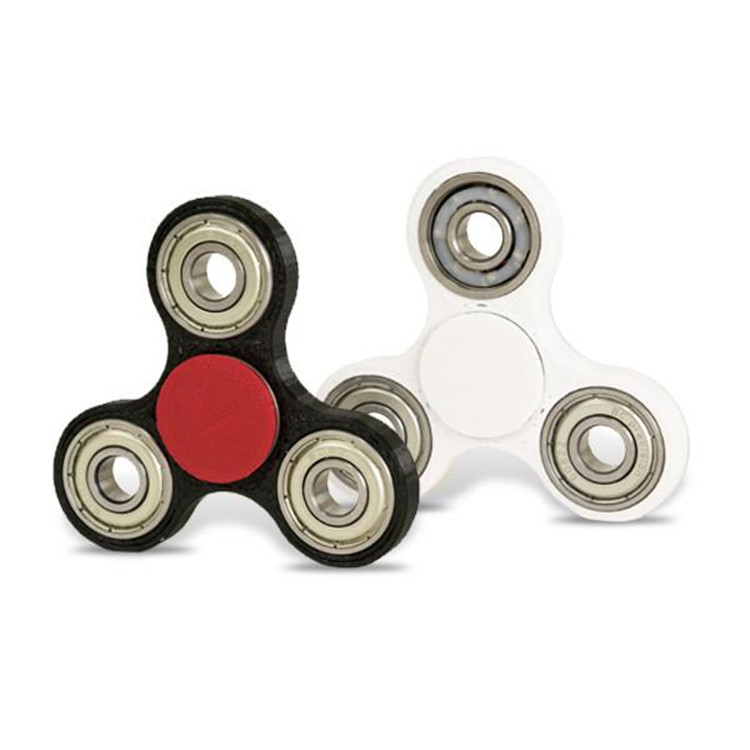 Haoqiang brand OEM Custom Bearing Fidget Spinner Toy metal fidget spinner toy with led light