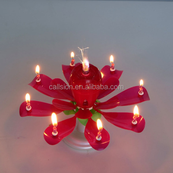 Chinese Firecrackers Birthday Candle For Sale