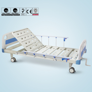 Low price single crank manual patient care medical bed for sale