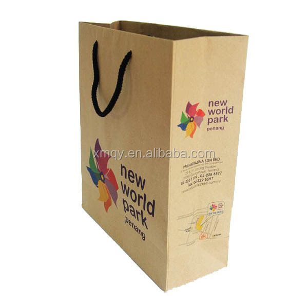 Xiamen Qiyang creative design kraft paper bag