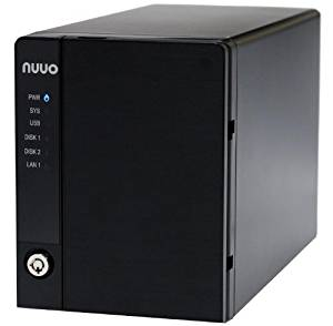 Nuuo Mini 2 NAS-based NVR Standalone 2 Channel, 2bay, 8TB included, US Power Cord (NE-2020-US-8T-4) New