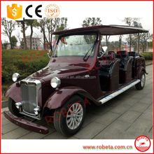 112 seater classic royal model Electric utility cars / bubble utility vehicle