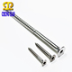 Flat Cap Head Hex Socket Stainless Steel Self Tapping Screws
