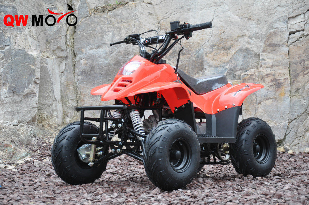 110CC Mini ATV Kids Mini Quad Bike 110CC 4 Wheeler QWATV-01