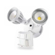 Double Heads 20W Power LED PIR Motion Sensor Security Light