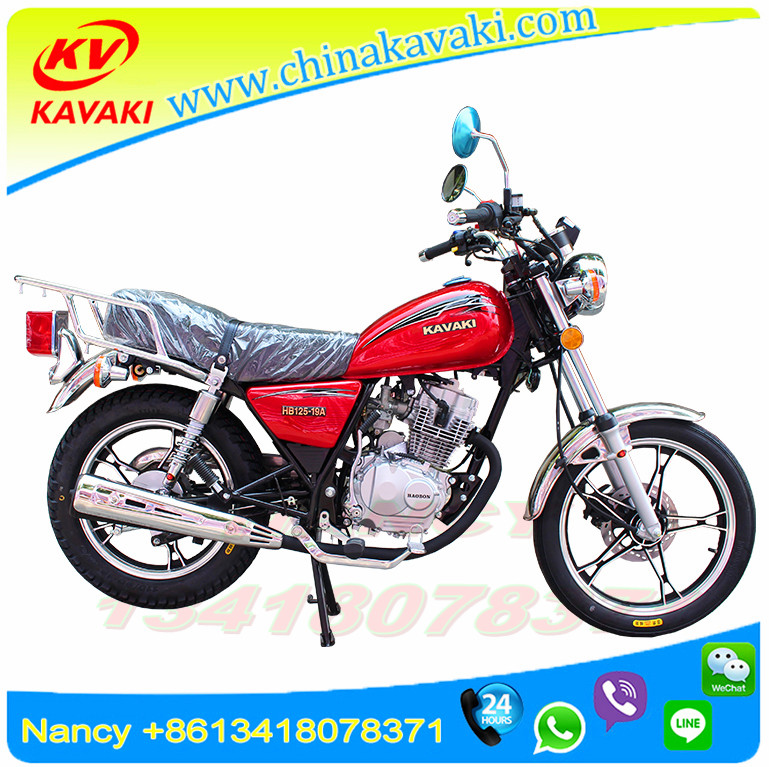 125cc EEC Approved Cheap Gasoline Street Sport Motorcycle/ Motorbike