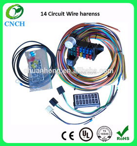 14 circuit automotive wiring kits classic universal racing auto car wire Street Hot Rod Custom wire harness