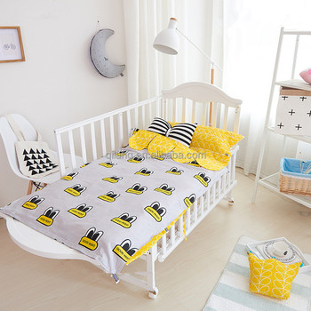 Amazon On Stock Embroidery Design Baby Crib Nursery Bedding Set 10 Pcs -  Buy Quilt Cover And Bed Sheet,100 Cotton Crib Bed Linen,Babies Animal Crib  ...