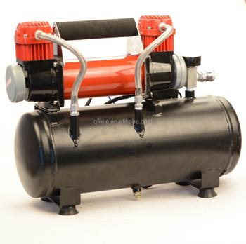 Toppen Doppel Zylinder 12 V Luft Kompressor Mit Tank - Buy Luft DS-52