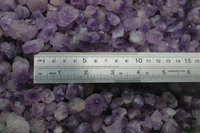 Raw Tiny Natural Purple Amethyst Quartz Crystal Cluster Points Crystal Seeds