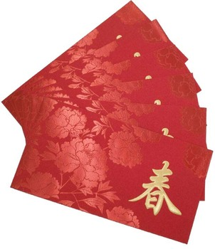 manufacturer color texture paper chinese new year packets red envelope - Color Packets
