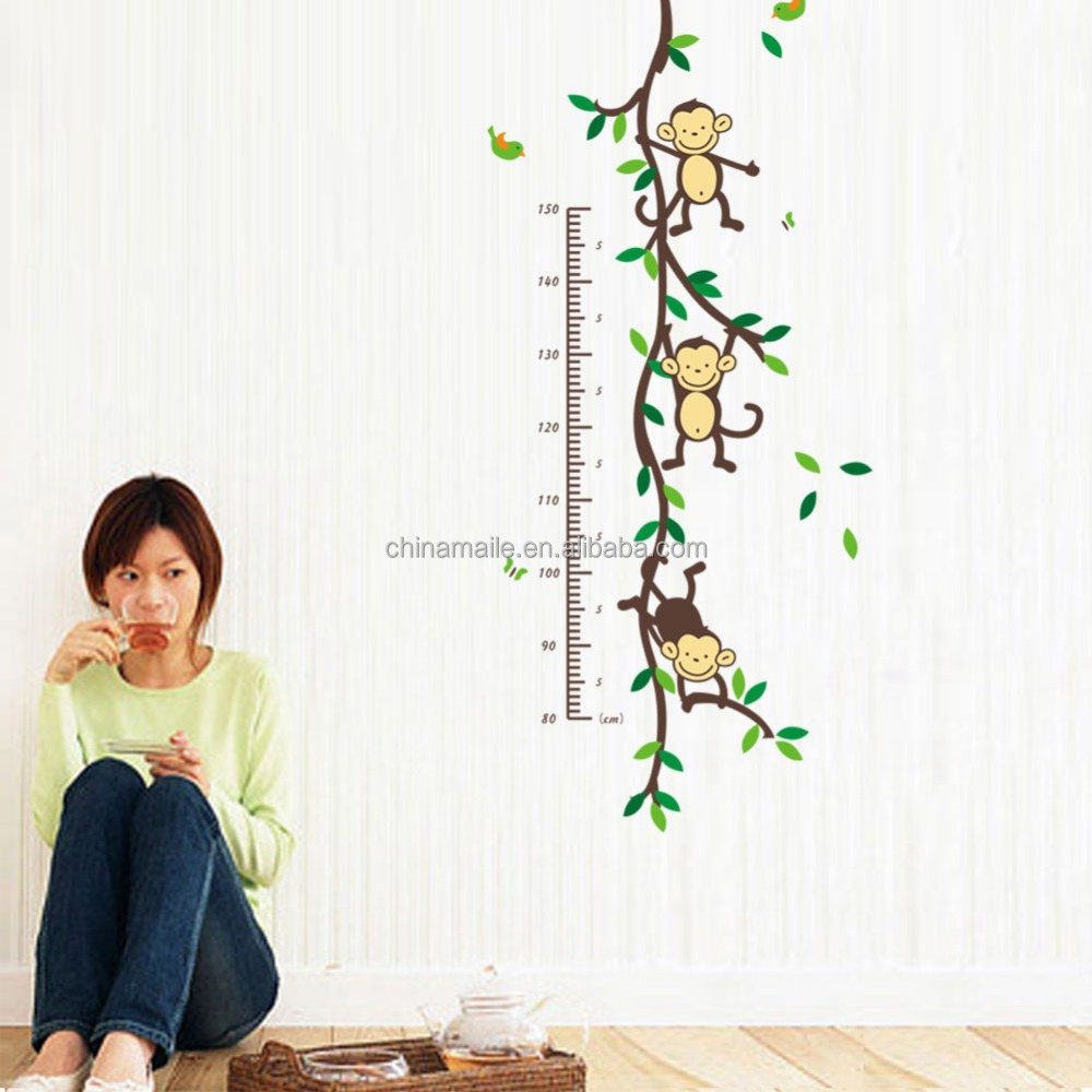Kids height growth chart wall sticker kids height growth chart wall kids height growth chart wall sticker kids height growth chart wall sticker suppliers and manufacturers at alibaba geenschuldenfo Images