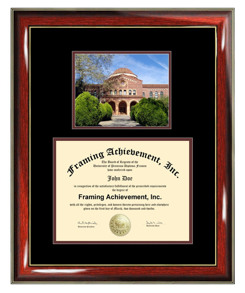 California State University Chico Diploma Frame - CSUC Graduation Degree Frame - Matted College Photo Graduation Certificate Plaque Chico State University Framing Graduate Gift Collegiate