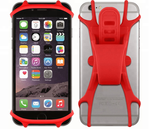 Hot Selling Silicone Motor cycles Bike Mobile Phone Holder