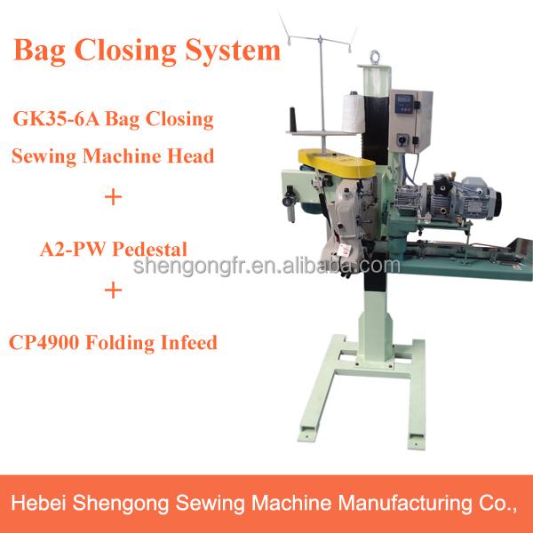 SHENPENG GK35-6A hot sale automatic bag closer sewing machine