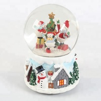 Custom snow globe,Christmas water snow globe for souvenir